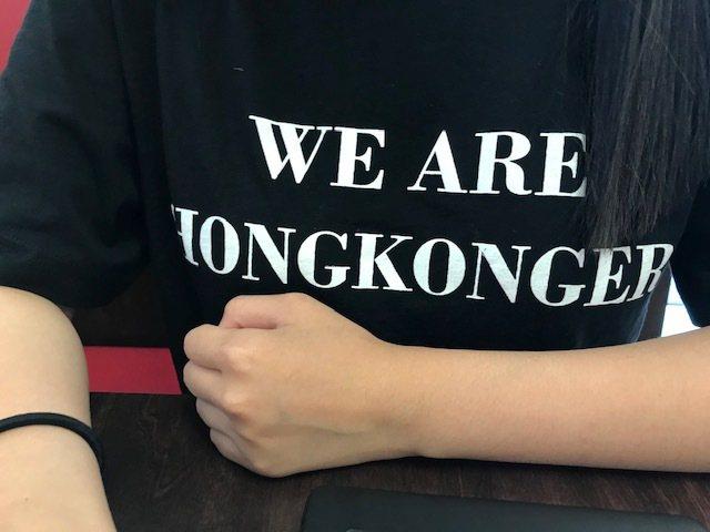 聖安東尼山社區學院香港留學生:我這次親眼看到的香港遊行 (影片截圖)