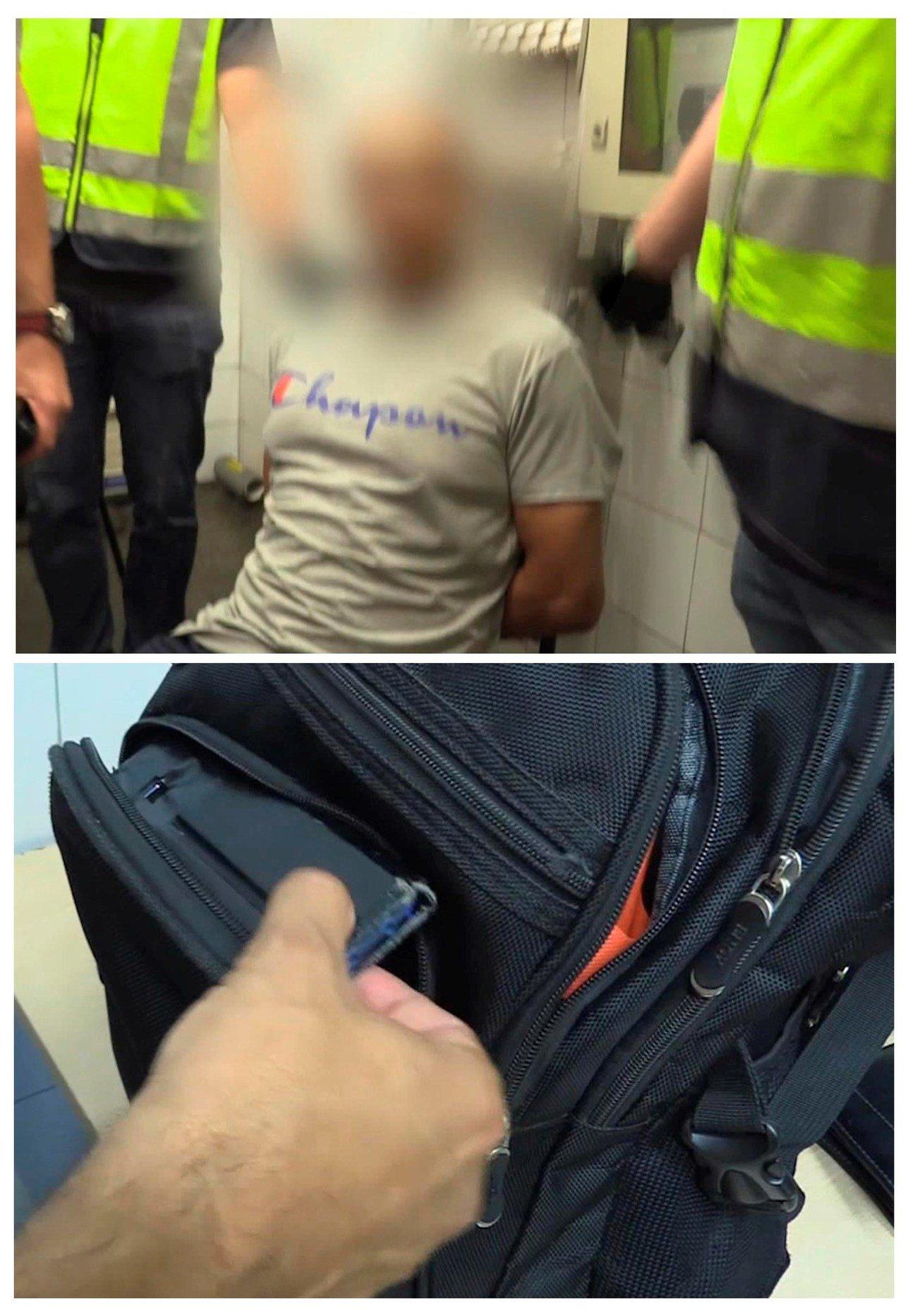西班牙警方表示一名犯嫌因在大眾運輸工具上、超市偷拍女性裙底風光被捕,受害者超過5...