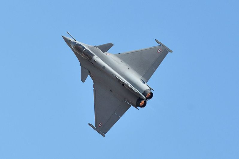 印度採購的飆風戰機。 法新社
