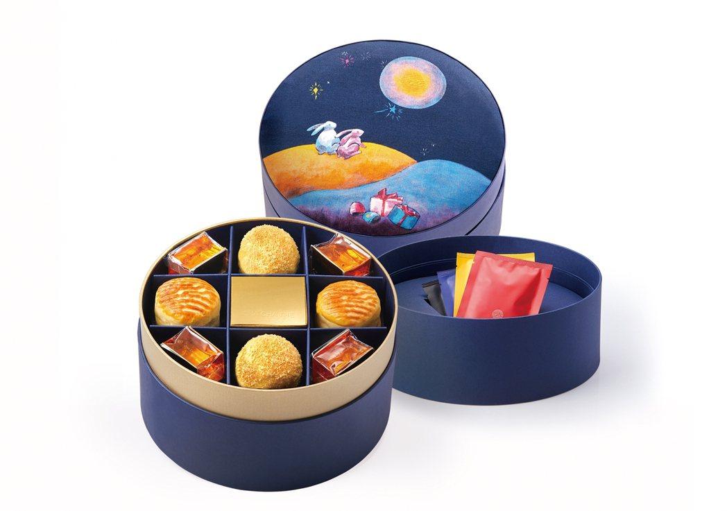 采采食茶今年共推出13款禮盒,圖為澄意系列禮盒。 采采食茶/提供