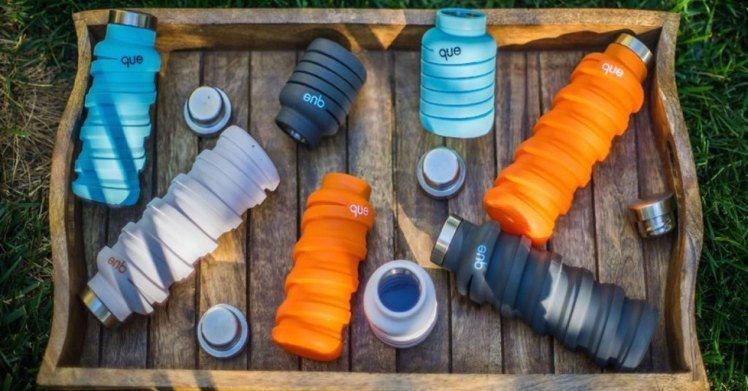 造型特殊的伸縮水平能節省包包的空間,不管是上班或是運動外出都很適合攜帶。圖片來源...