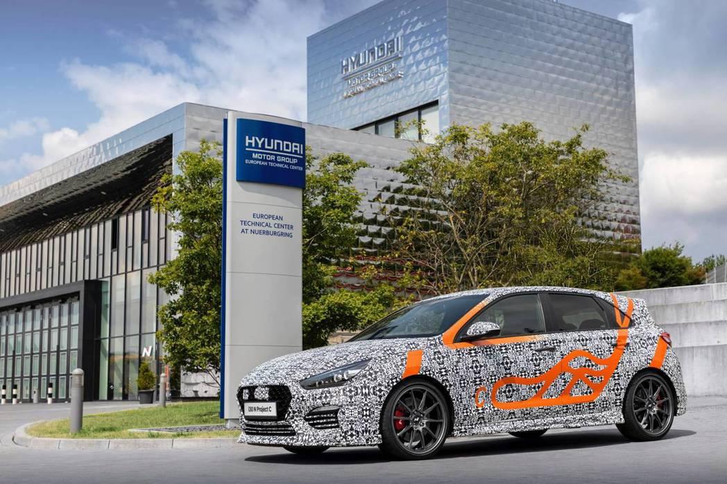 Hyundai i30 N Project C將於2019法蘭克福車展中發表。 ...