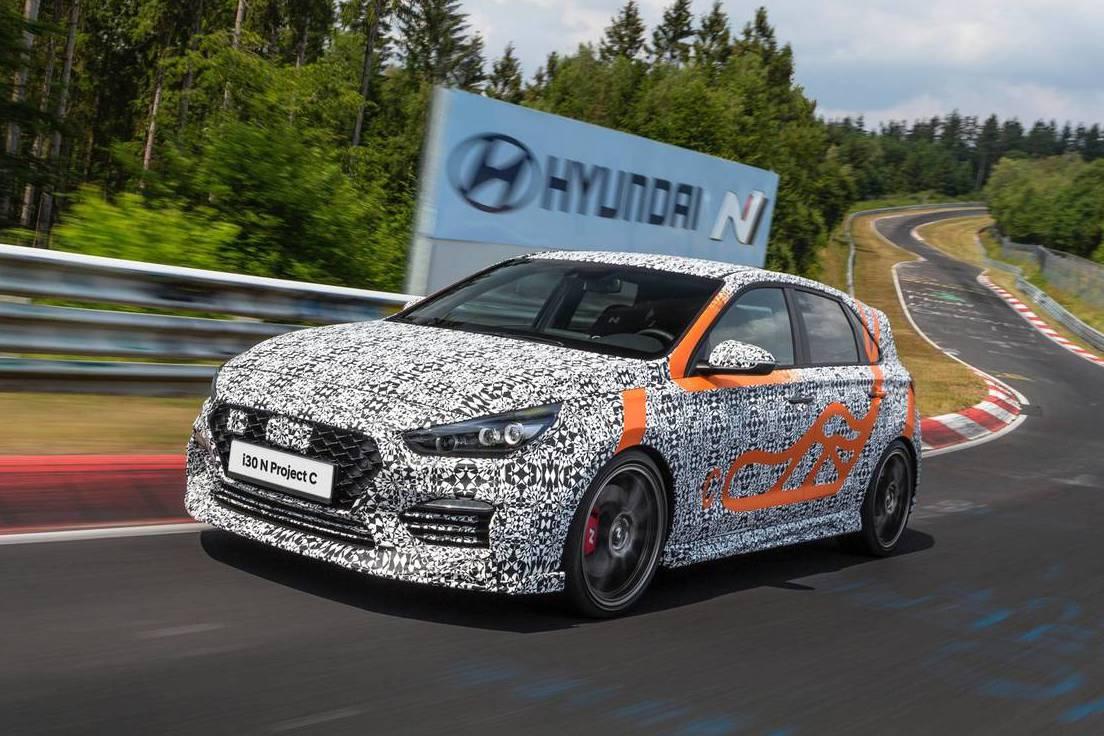 更嗆辣的鋼砲誕生 Hyundai i30 N Project C法蘭克福預告發表!