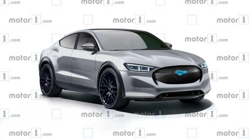 Ford Mach 1預想圖。 摘自Motor 1