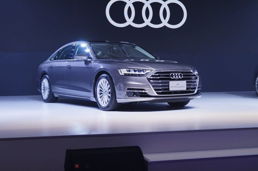 The new Audi A8 50 TDI quattro。 記者趙駿宏/攝影