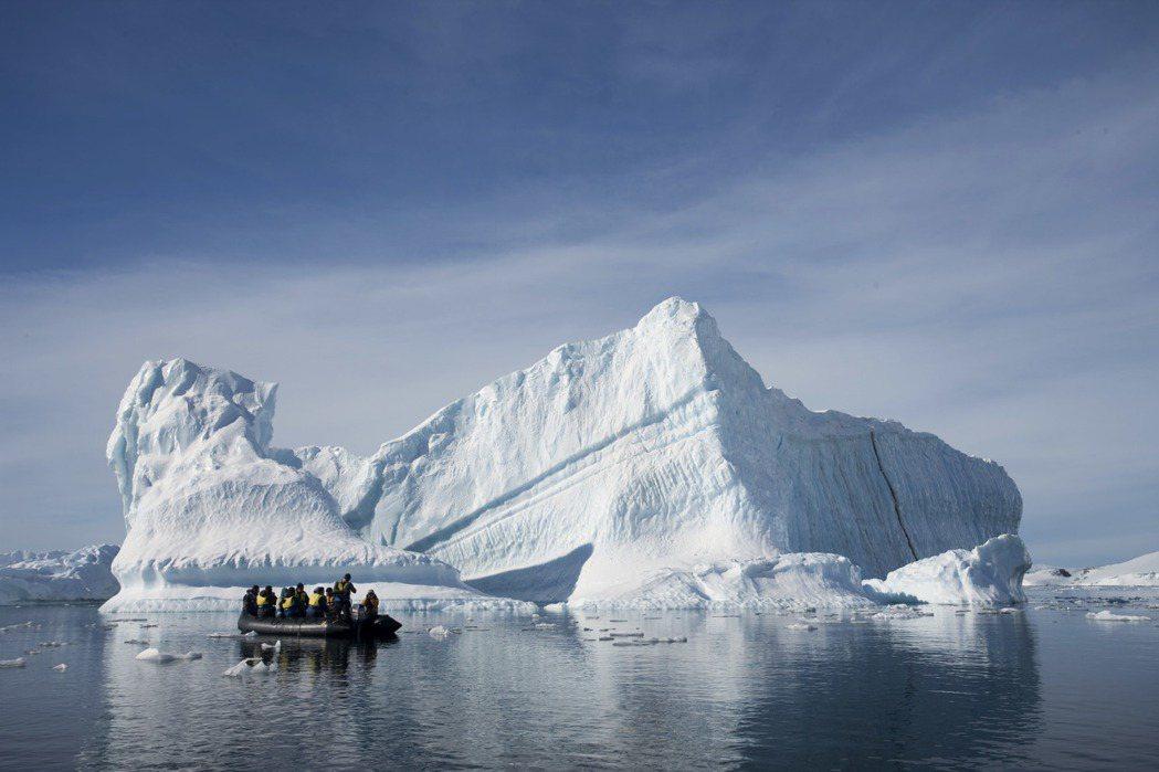 攝於2009年,南極。 圖/美聯社