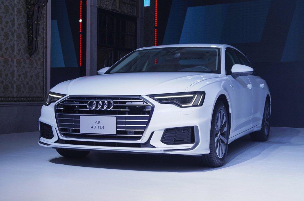 The new Audi A6 相較上一代車型在車身尺寸上皆有增長,更寬敞的頭部...