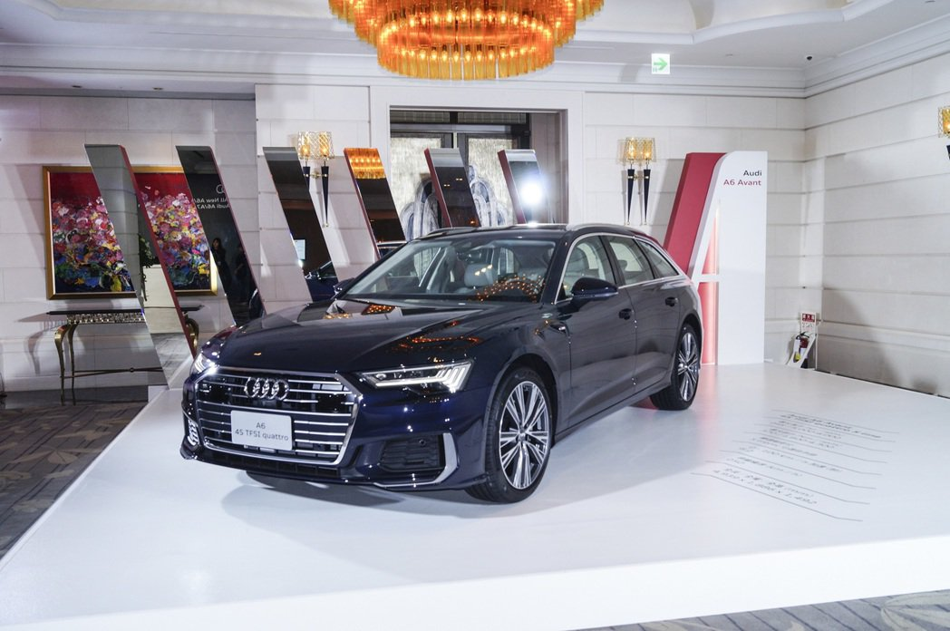 Audi A6 Avant 45 TFSI quattro。 記者趙駿宏/攝影