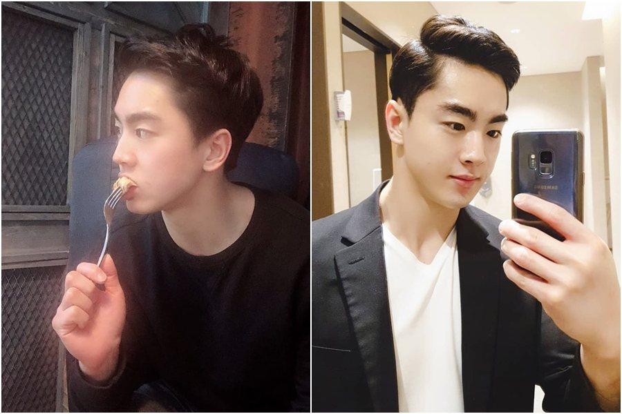 Kim Beom Jun被認為長得很像BTS(防彈少年團)的大哥Jin 圖片來源...