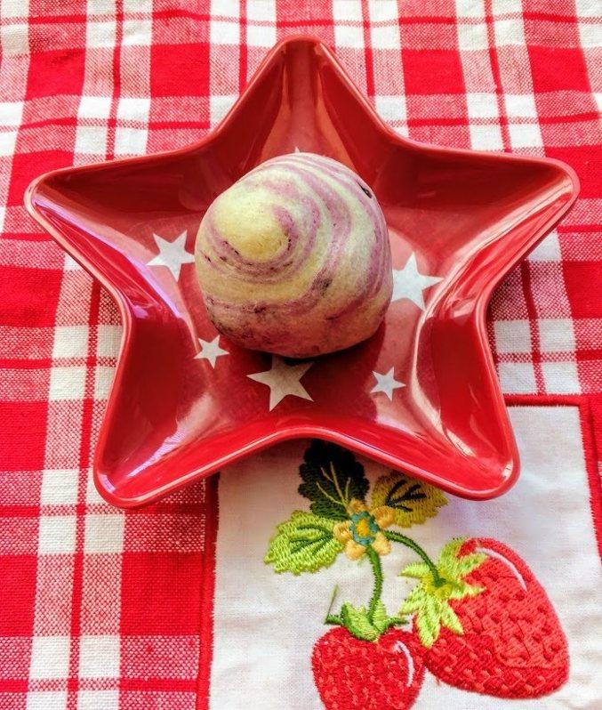 圖文:美國番媽【食譜】紫薯酥
