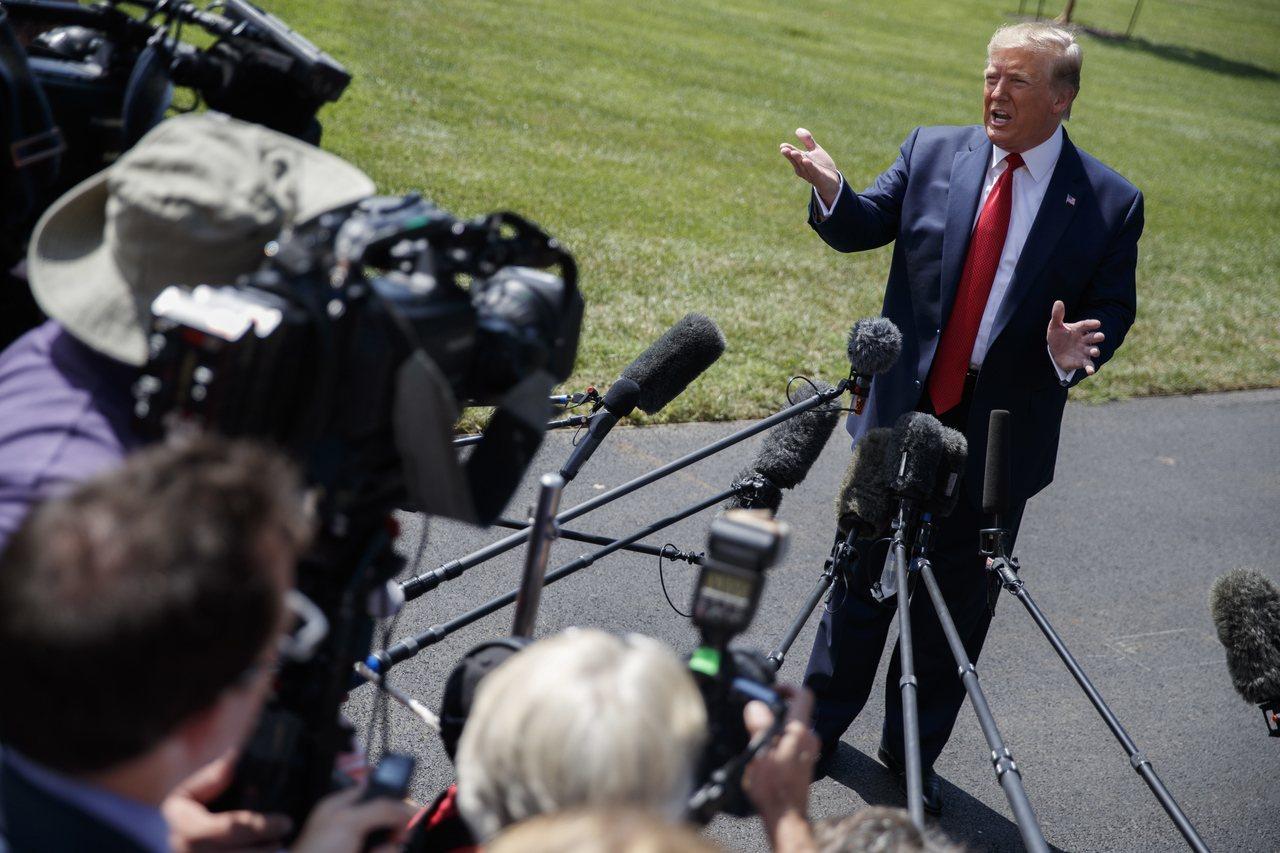 美國總統川普21日表示,無意降低資本利得稅。歐新社