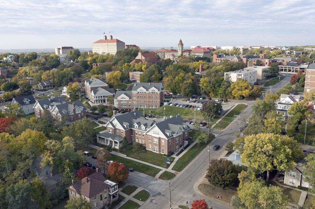 美國堪薩斯大學。(擷自堪薩斯大學官網)