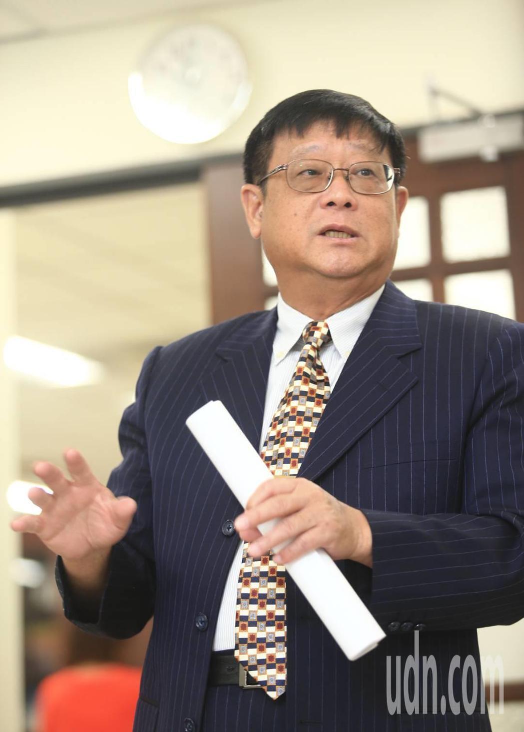 環保署長張子敬。記者陳正興/攝影