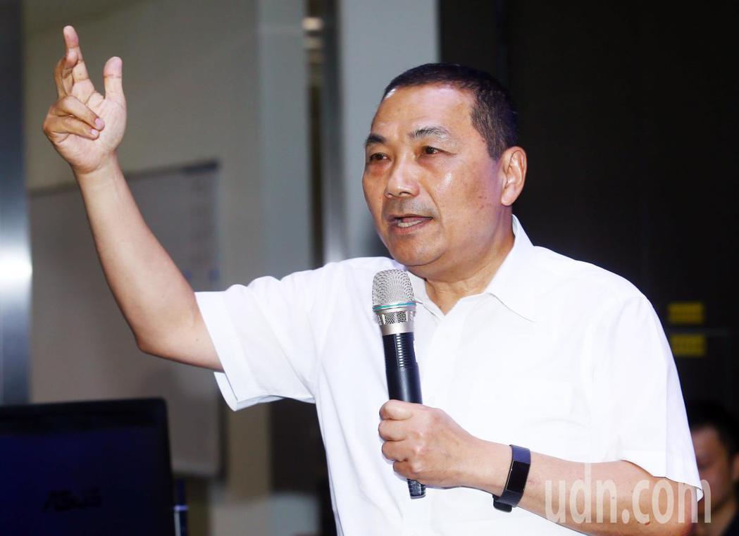 針對韓國瑜表示若當選會重啟核四,新北市長侯友宜表示,他不反對核電,最憂慮的是缺電...