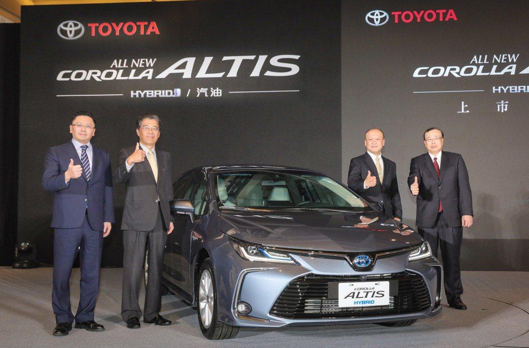 全球銷售神車ALTIS,在國內也座穩國產車銷售王。報系資料照
