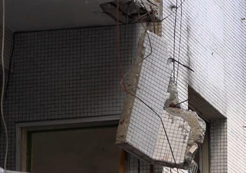 海砂屋重建牛步,台北市至今仍有數件「須拆除重建」海砂屋尚未進行重建或都市更新。圖...