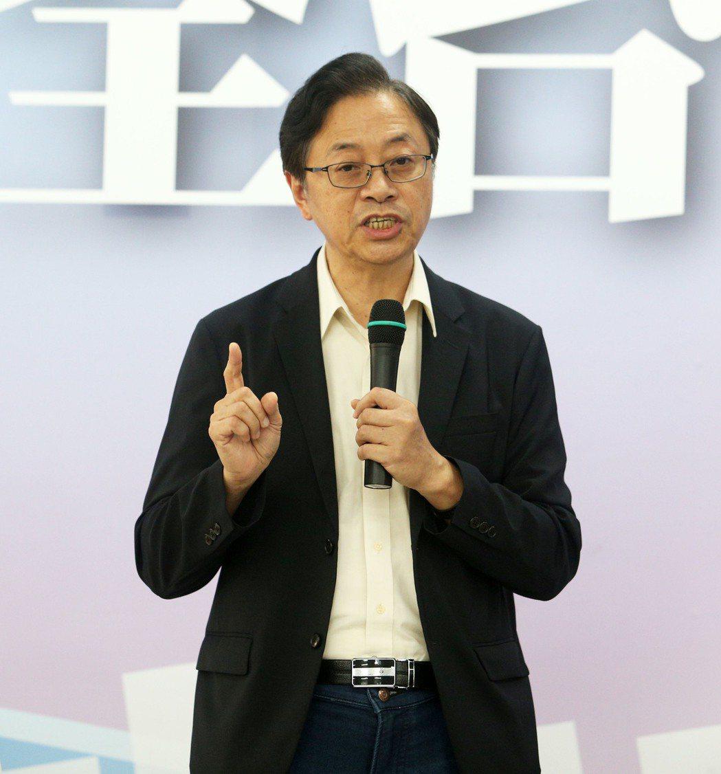 國政顧問團總召張善政。記者劉學聖/攝影