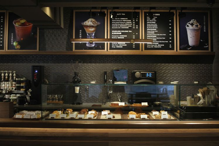 以新鮮蔬果料理為主題的Dreamers Coffee。圖/台北101提供