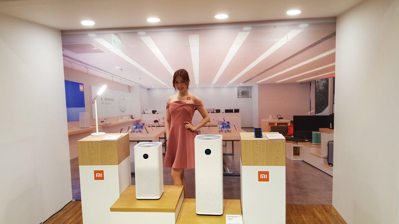 小米宣布攜手新光三越拓實體門市。記者鄒秀明/攝影