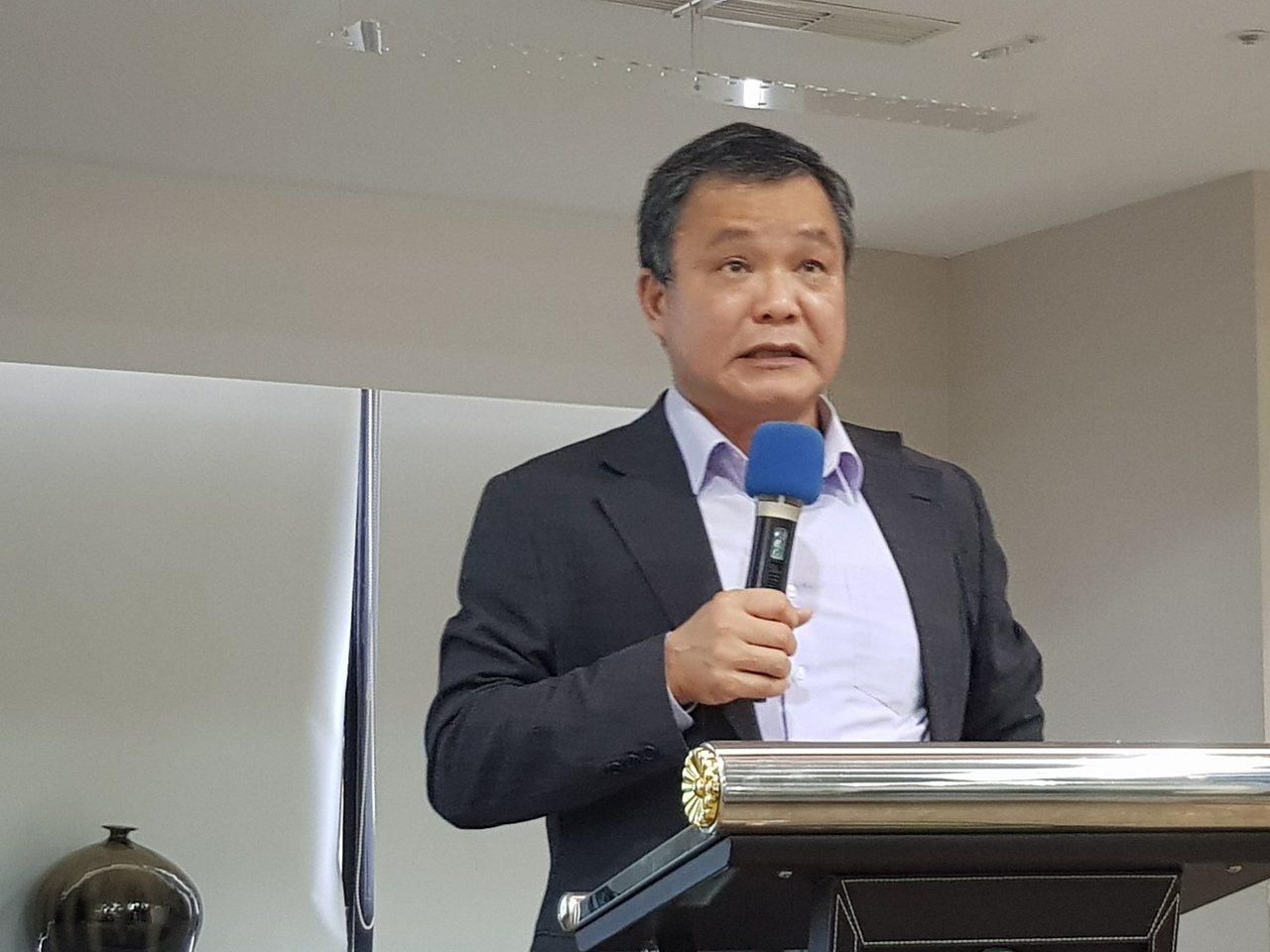 上緯投控董事長蔡朝陽。記者曾仁凱/攝影