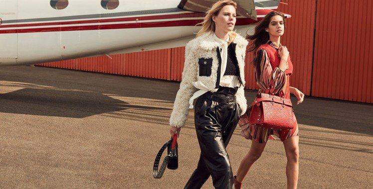 全新La Voyageuse手袋系列以都會旅行者作為設計理念。圖/LONGCHA...