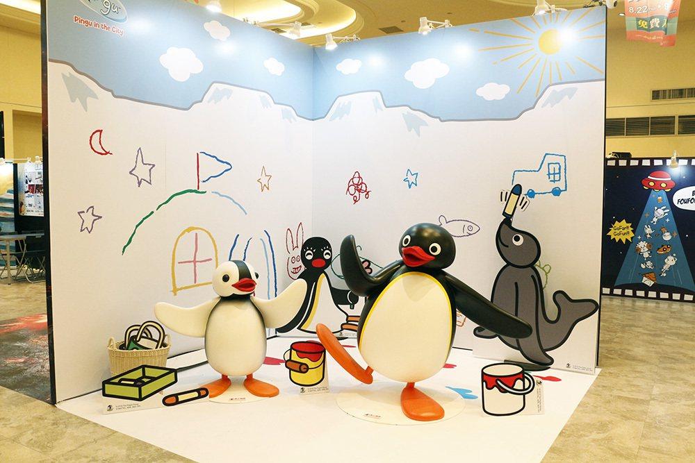 PINGU企鵝家族。圖/新光三越提供