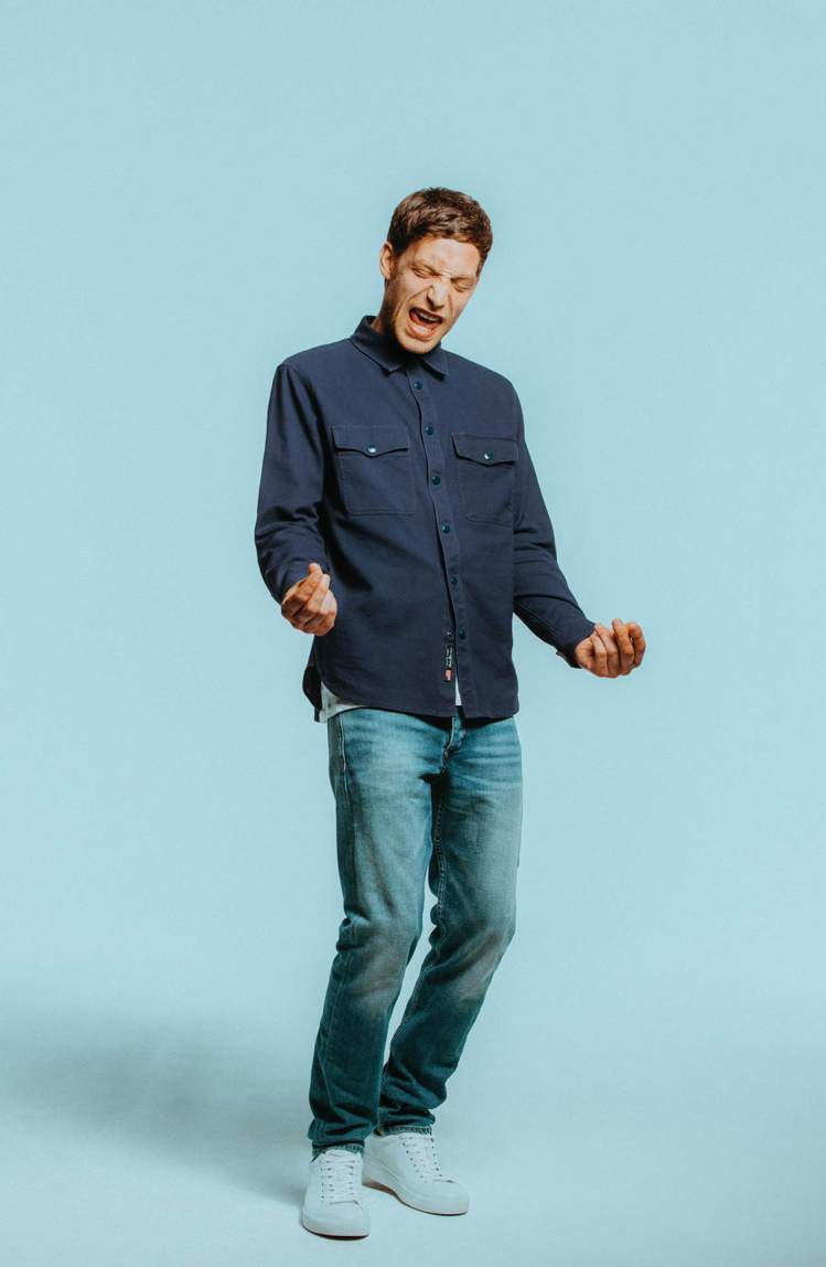 James Jagger展現rag & bone男裝的瀟灑帥氣。圖/rag & ...