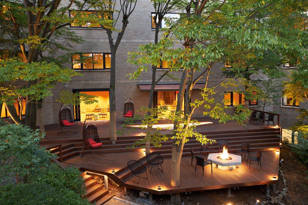 旅客可以在SPA露臺庭園盡情放鬆。圖/業者提供