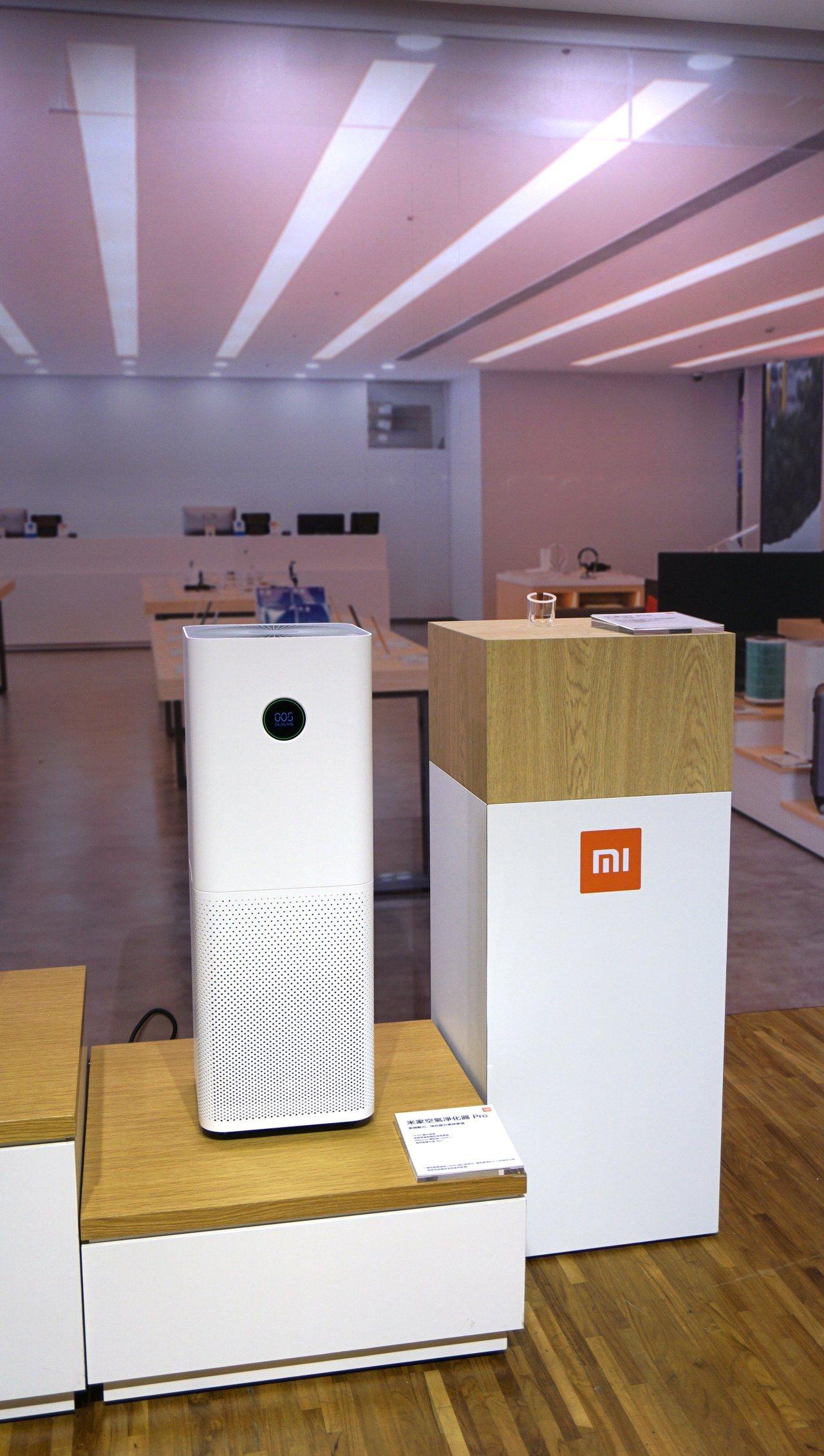 米家空氣淨化器Pro,建議售價6,895元。記者黃筱晴/攝影