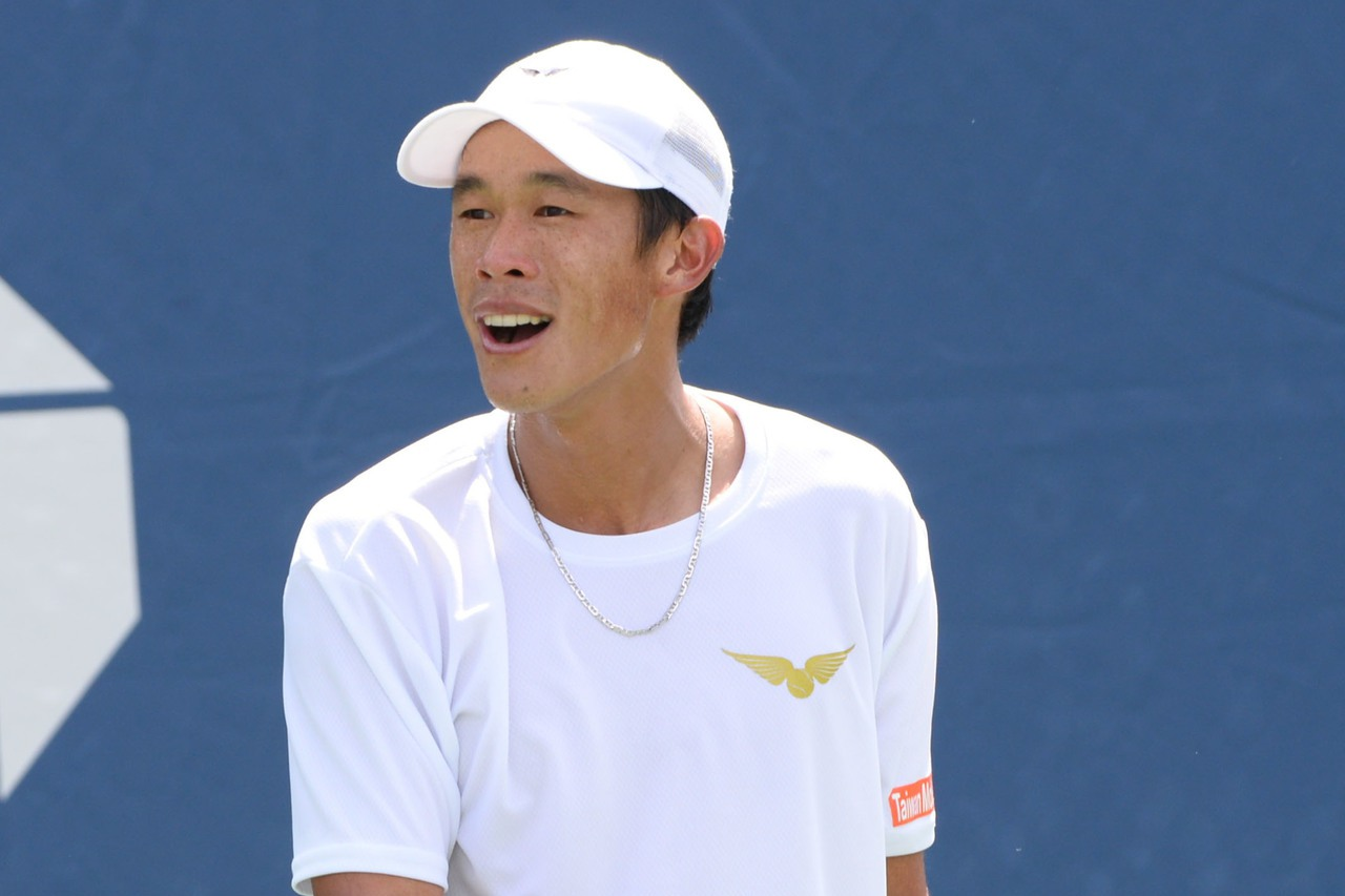 莊吉生晉級澳網會外賽次輪。 圖/聯合報系資料照