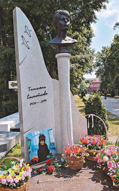 莎莫伊洛娃之墓。 圖/李黎提供