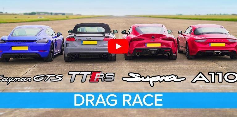 影/Toyota Supra挑戰歐系強敵!Porsche+Audi+Alpine熱血Turbo小跑車