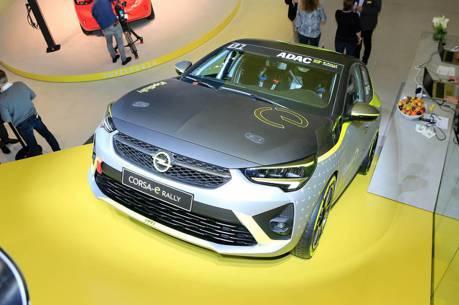 全球首輛電動拉力賽車 Opel Corsa-e法蘭克福車展正式現身!