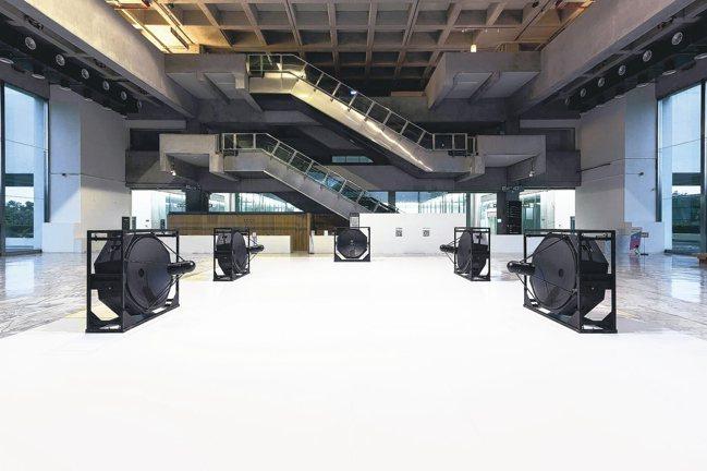 以5個超級定向揚聲器和電腦打造《A「連續統」》 圖/北美館提供