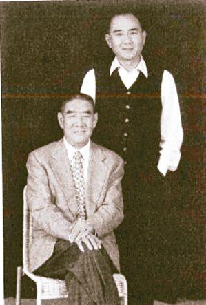 楊紀華至今仍謹記父親楊秉彝(左)各種教誨。 鼎泰豐提供