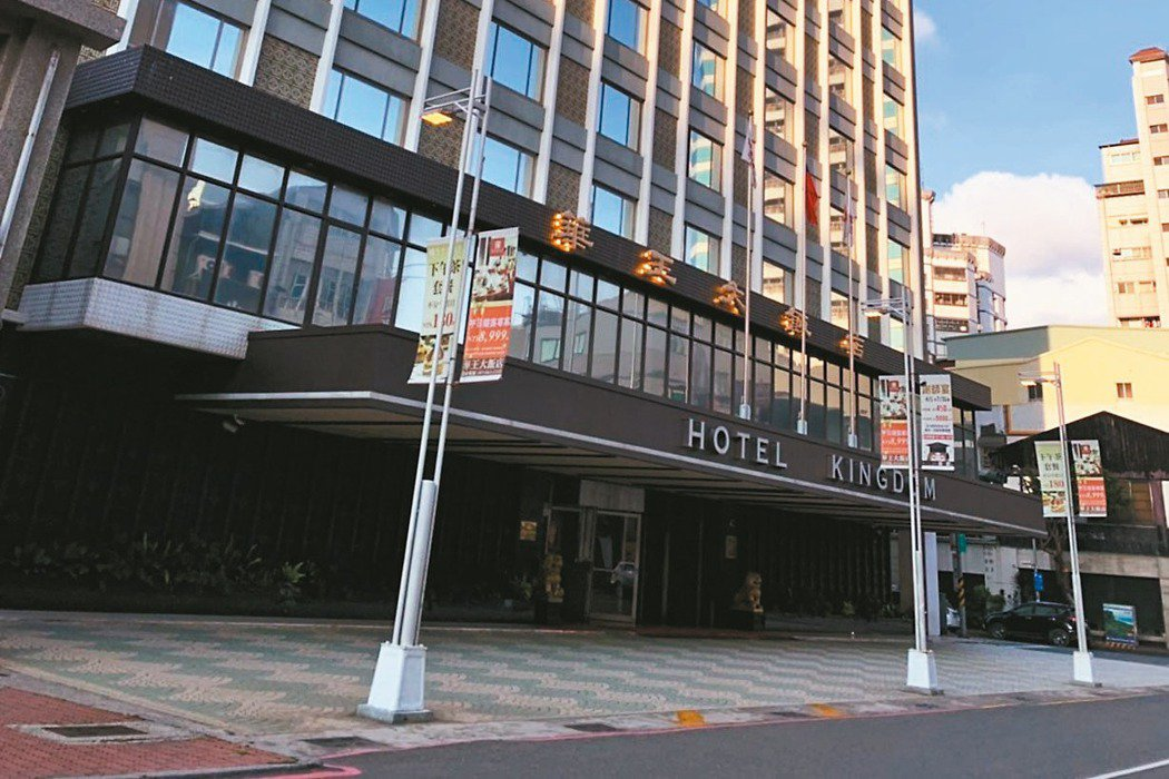 高雄市華王飯店驚傳11月吹熄燈號。 記者謝梅芬/攝影