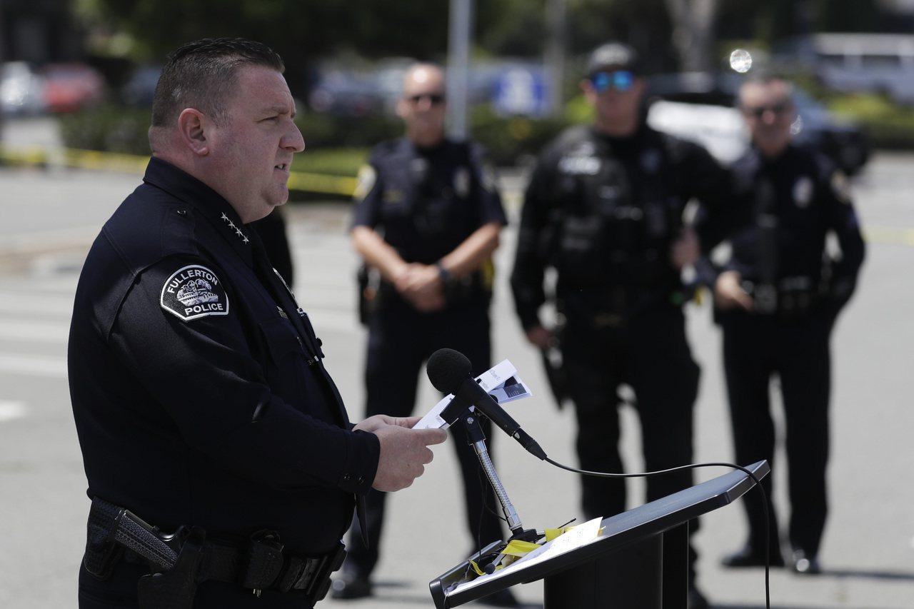 家州富樂頓警方22日宣布,逮捕51歲的華人兇嫌武初業。美聯社