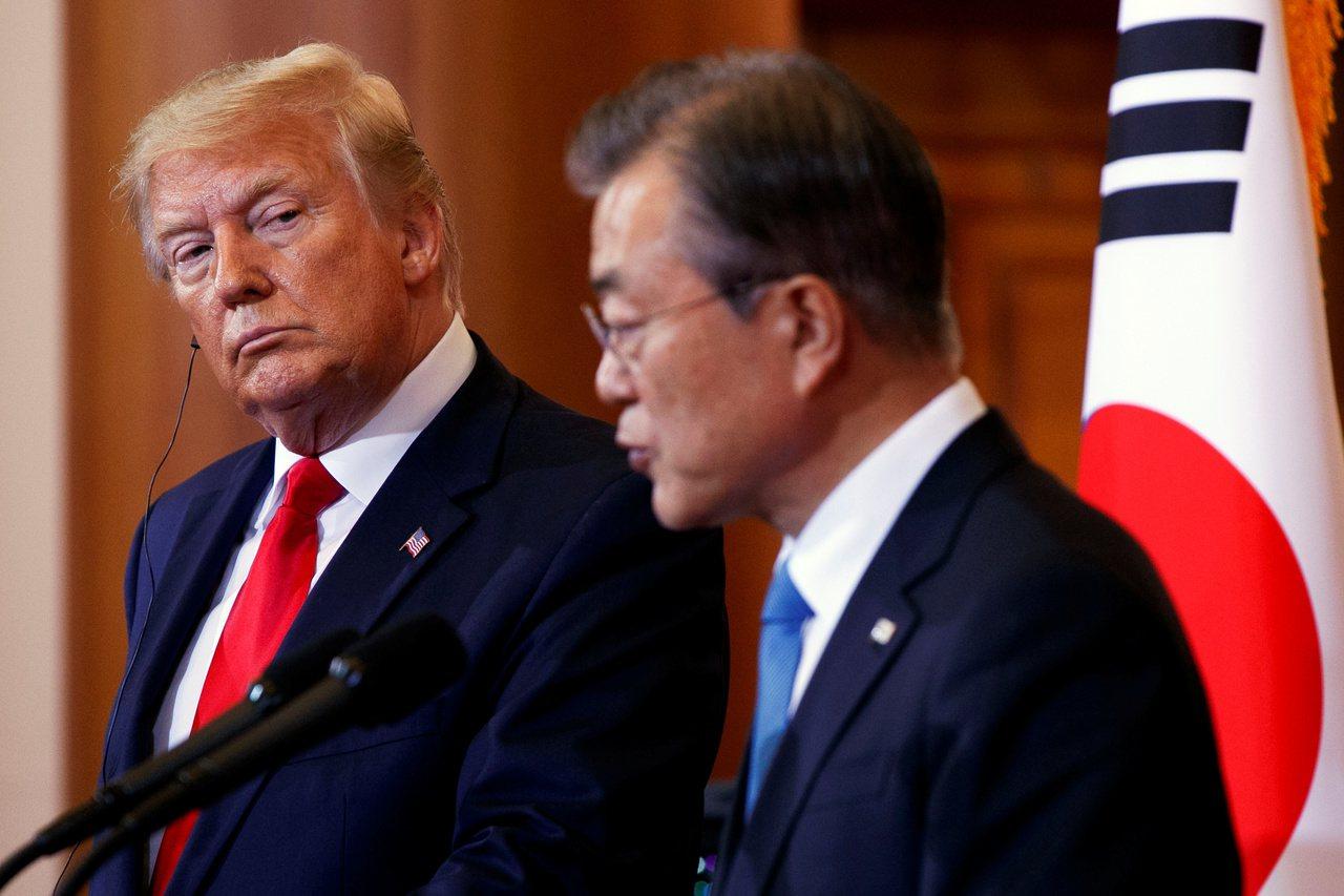 拉不住南韓,美國威信已失?南韓不明智,前副外長:自變黑天鵝。 路透社