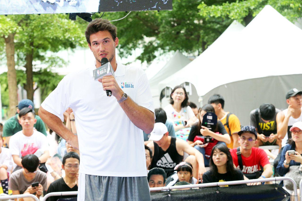 今夏曾造訪台灣的蓋里納利。 報系資料照