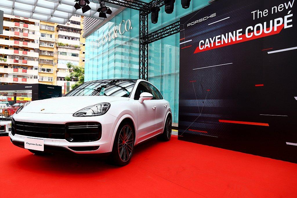 台灣共導入保時捷Cayenne Coupe、Cayenne S Coupe和Ca...