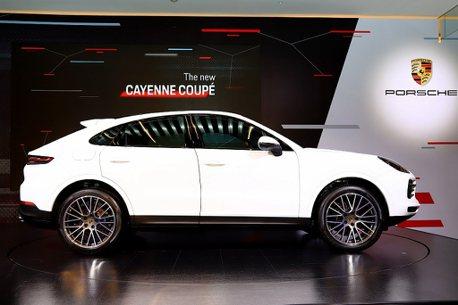 強烈跑車風範!保時捷Cayenne Coupe台幣368萬起發表