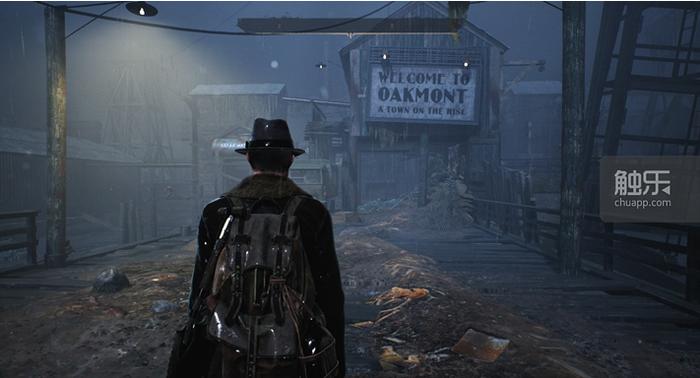 「歡迎來到奧克蒙特,一座新興的城鎮」?不用了,謝謝。