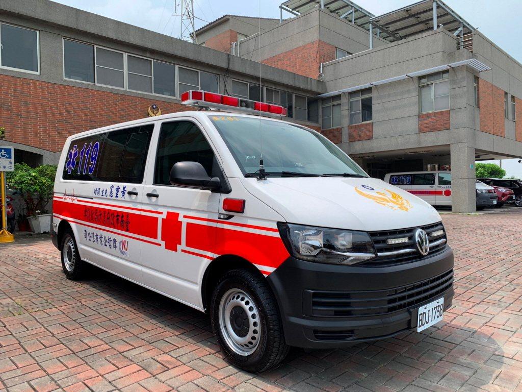 救護車示意圖,非關本新聞。圖/消防局提供