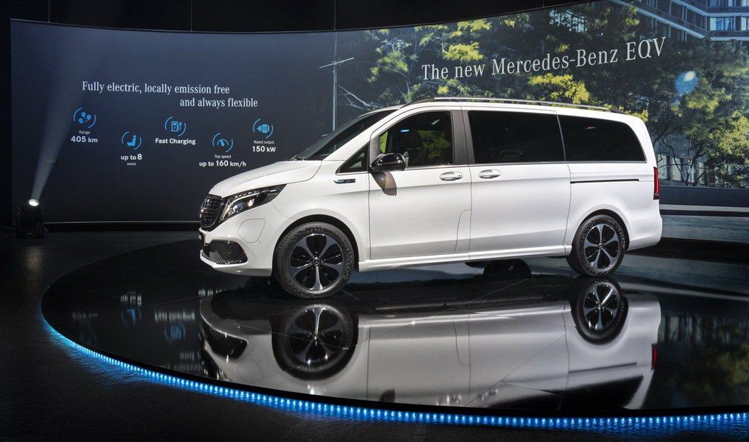 Mercedes-Benz EQV。 摘自Mercedes-Benz