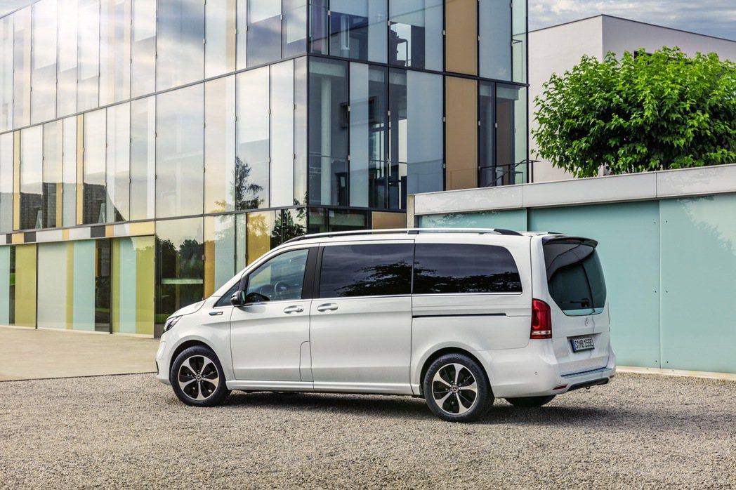 EQV是Mercedes-Benz第二款純電作品。 摘自Mercedes-Ben...