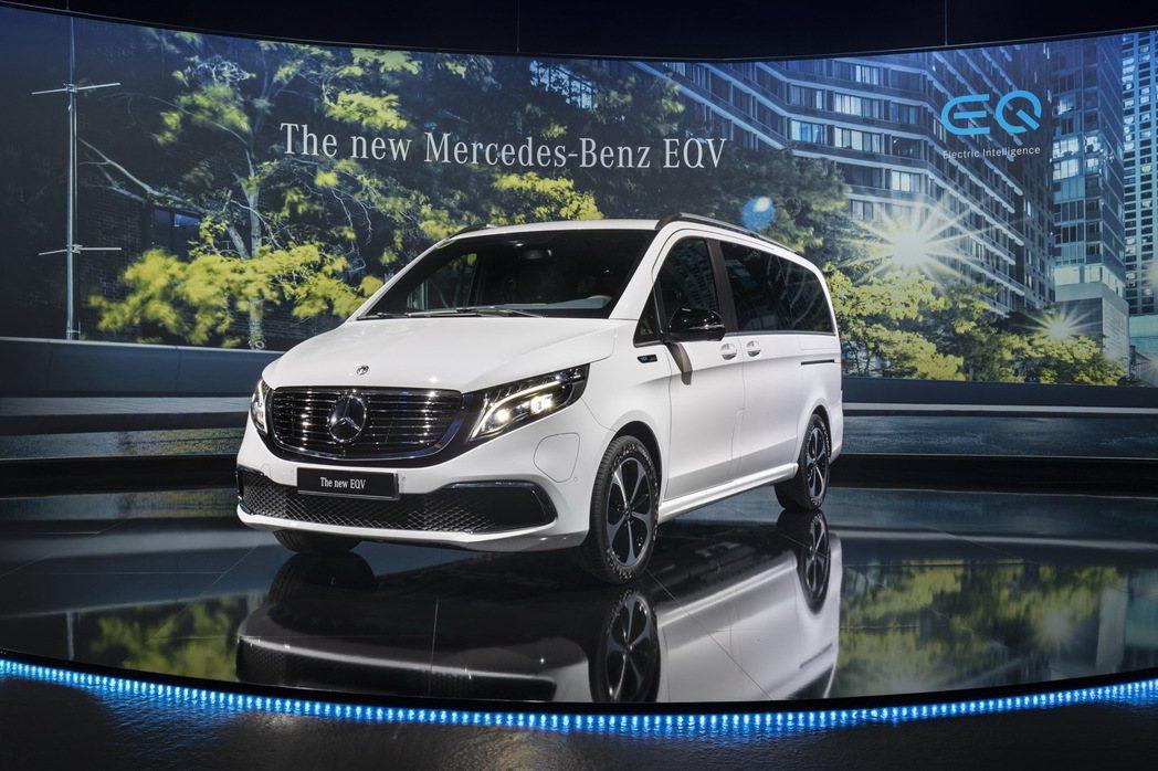 Mercedes-Benz EQV同時也是品牌第一款純電豪華商旅車。 摘自Mer...