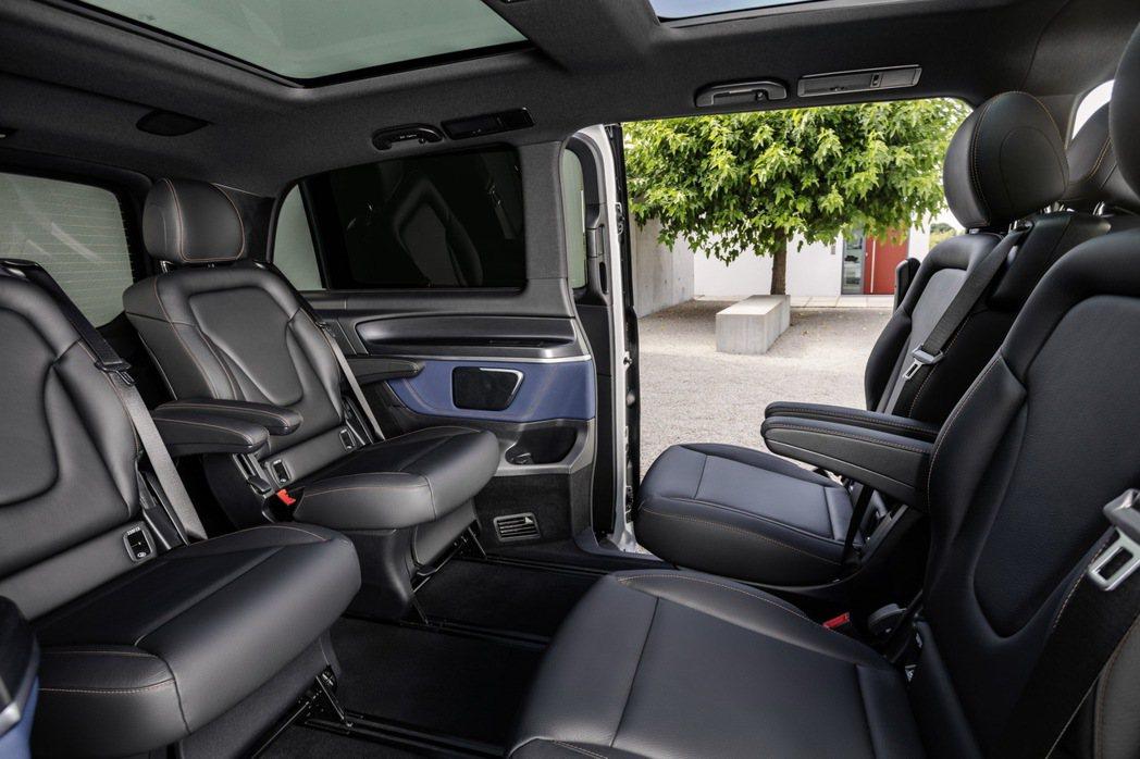 Mercedes-Benz EQV可依需求選擇六人、七人或八人座。 摘自Merc...