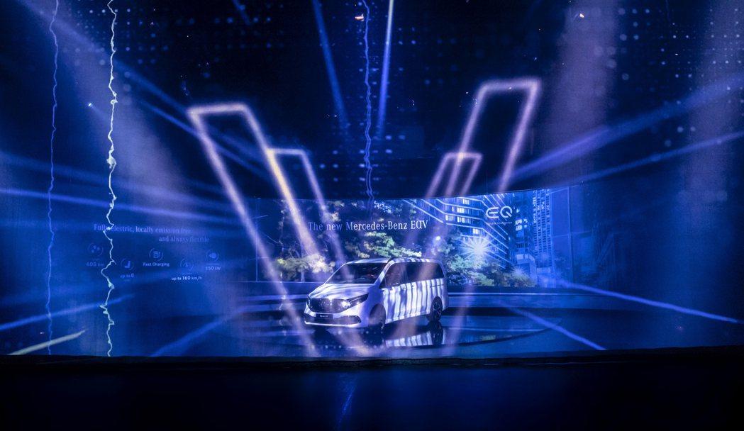 全新Mercedes-Benz EQV純電商旅車發表。 摘自Mercedes-B...