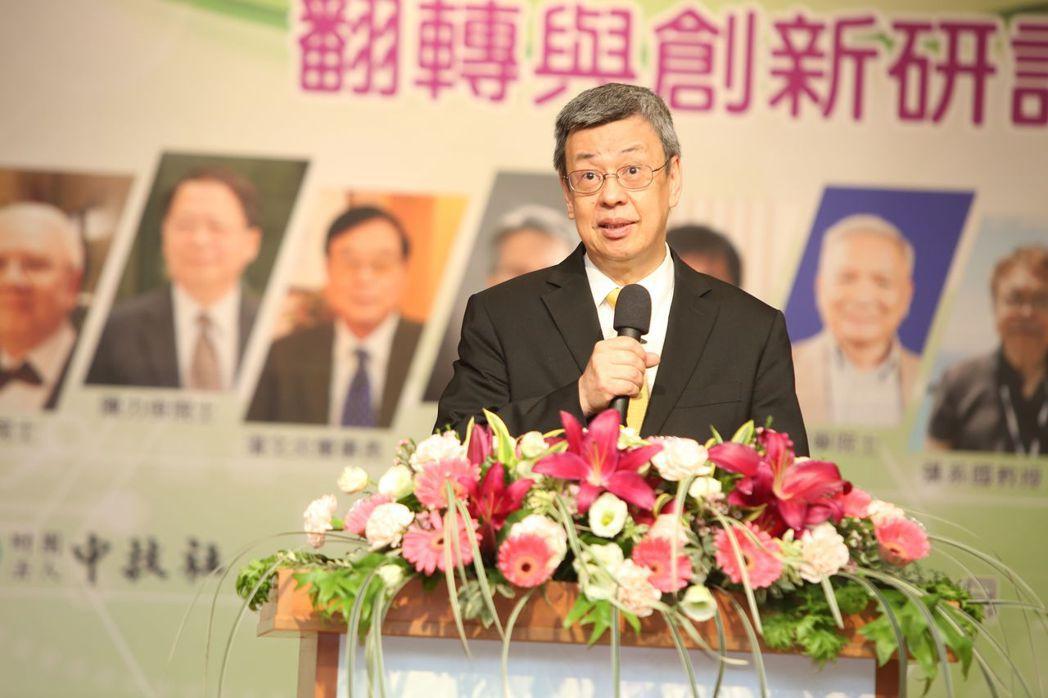 副總統陳建仁。毛洪霖/攝影