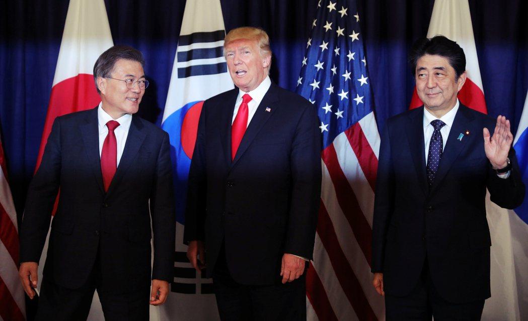 「只要美日韓團結一致、維持友好,將會使我們更加強大,這也有利於東北亞安全。」做為...